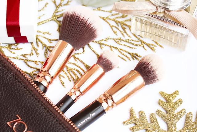 Zoeva Rose Gold Luxury Brush Set
