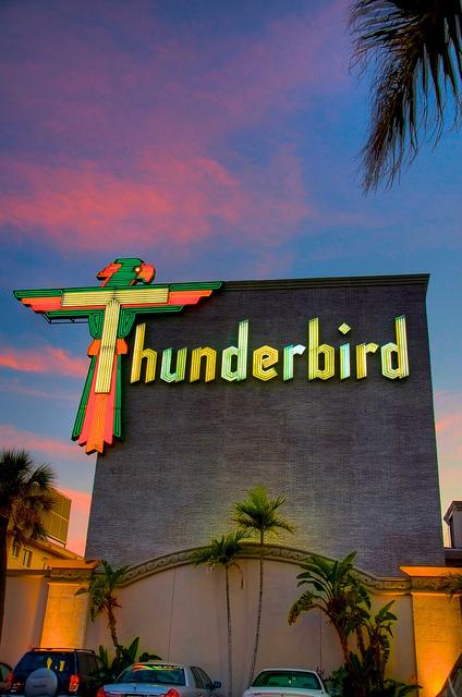 tampa bay daily photo thunderbird motel. Black Bedroom Furniture Sets. Home Design Ideas
