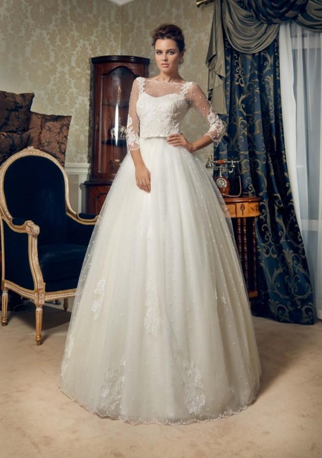 Bellos vestidos de novia | Colección Daria Karlozi