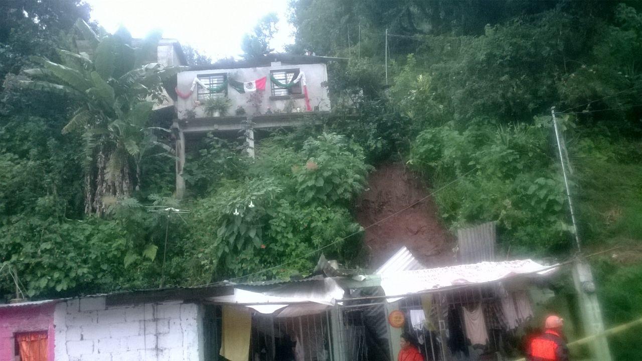 Atiende Ayuntamiento de Xalapa afectaciones por lluvias