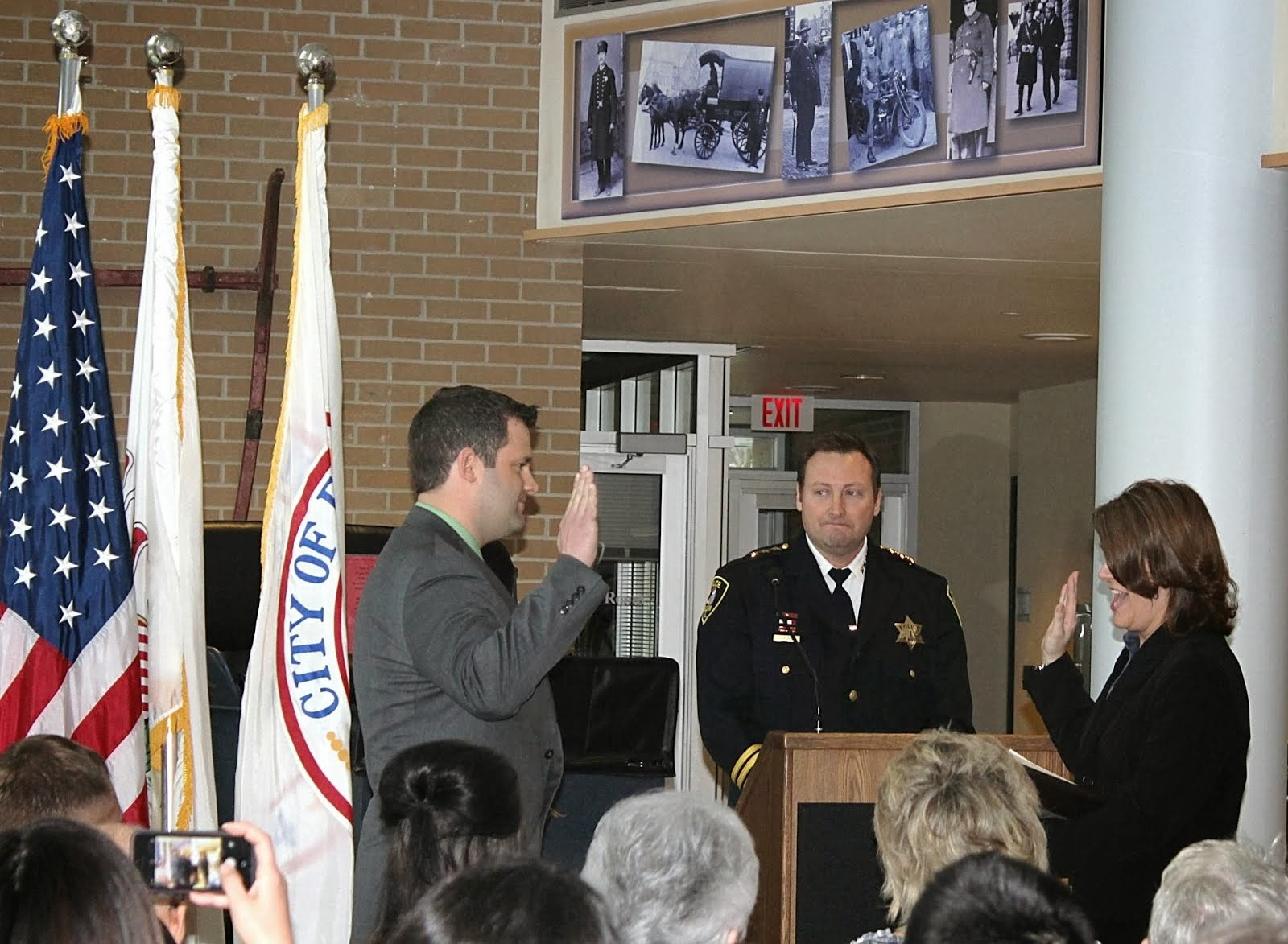 My son joins the Elgin Police Department
