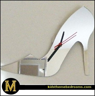 Fashionista   Diva Style bedroom decorating   runway theme bedroom ideas    shoe decor   Fashion  Acrylic High Heel. Decorating theme bedrooms   Maries Manor  Fashionista   Diva Style