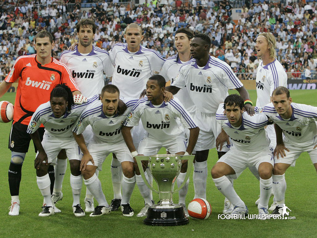 Real Madrid Soccer Team