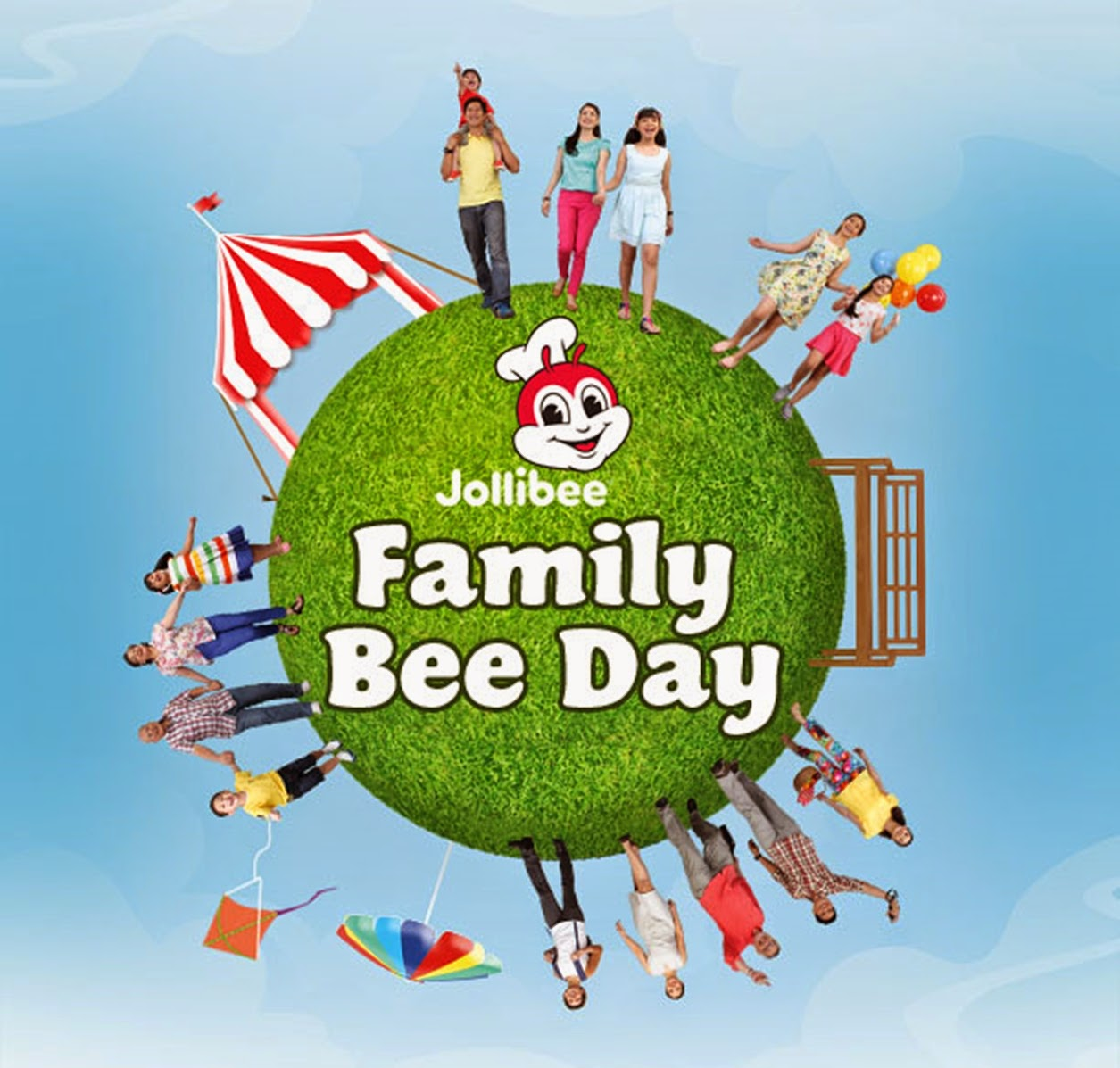 #FamilyBeeDay:Jollibee Family Bee Day