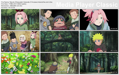 "Download Film / Anime Naruto Episode 314 ""Hujan Kesedihan"" Shippuden Bahasa Indonesia"
