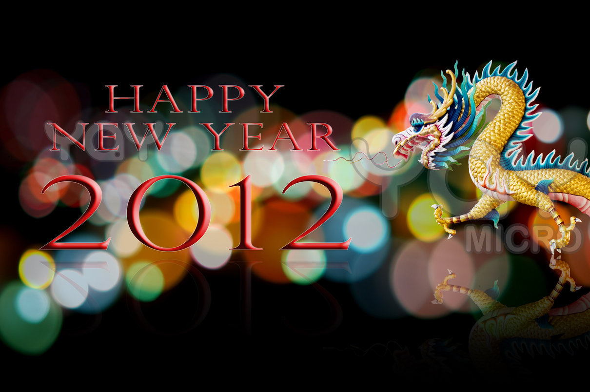 Funny 2012 New Year Greetings