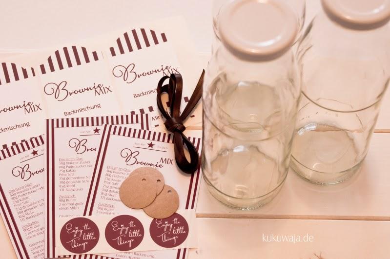 Kukuwaja Brownie Backmischung Und Verpackungsideen In