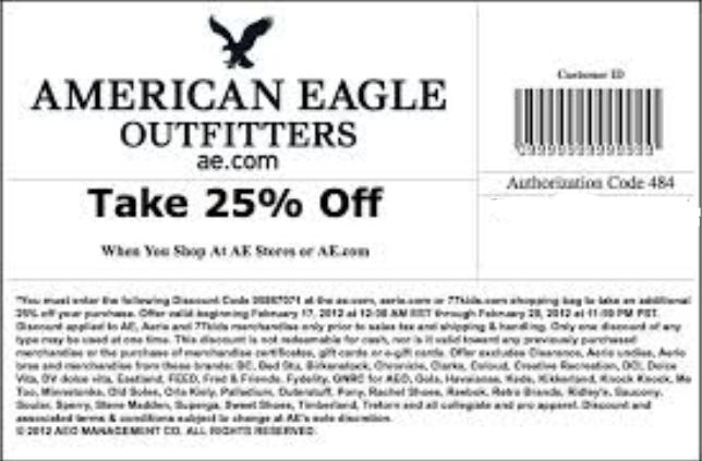 Ae.com coupon code
