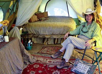 "10 Rules for ""Glamping"""