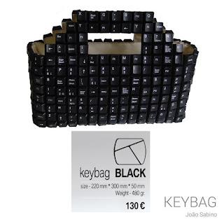 Designer Joao Sabino Keyboard Bag - Princess Caroline Style