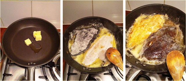 sole mugnaia, sole à la meunière, plaice à la meunière, plaice recipe, sole recipes, cooking soles, fish alla mugnaia, fish à la meunière