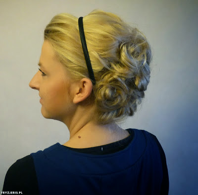 fryzura ślubna 80