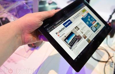harga xperia tablet z, spesifikasi dan fitur tablet android xperia z terbaru