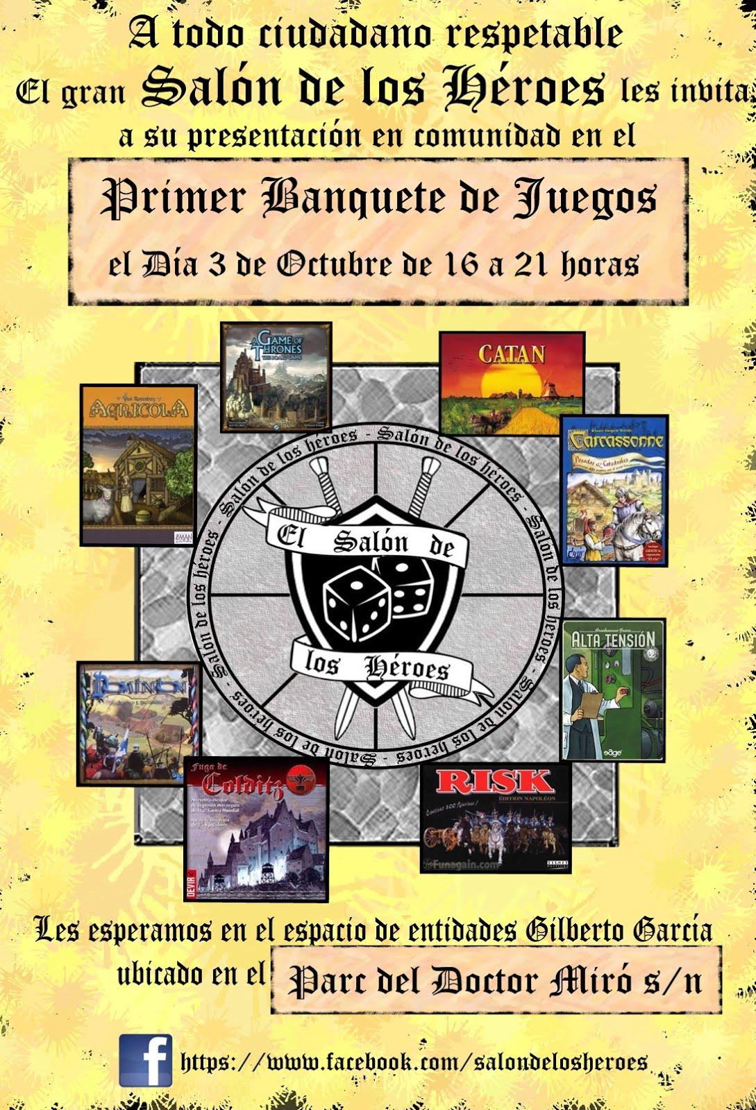 Primer Banquete de Juegos