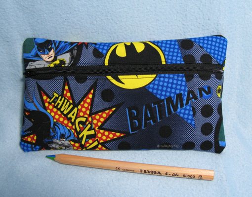Batman Themed Presents ~ Threading My Way
