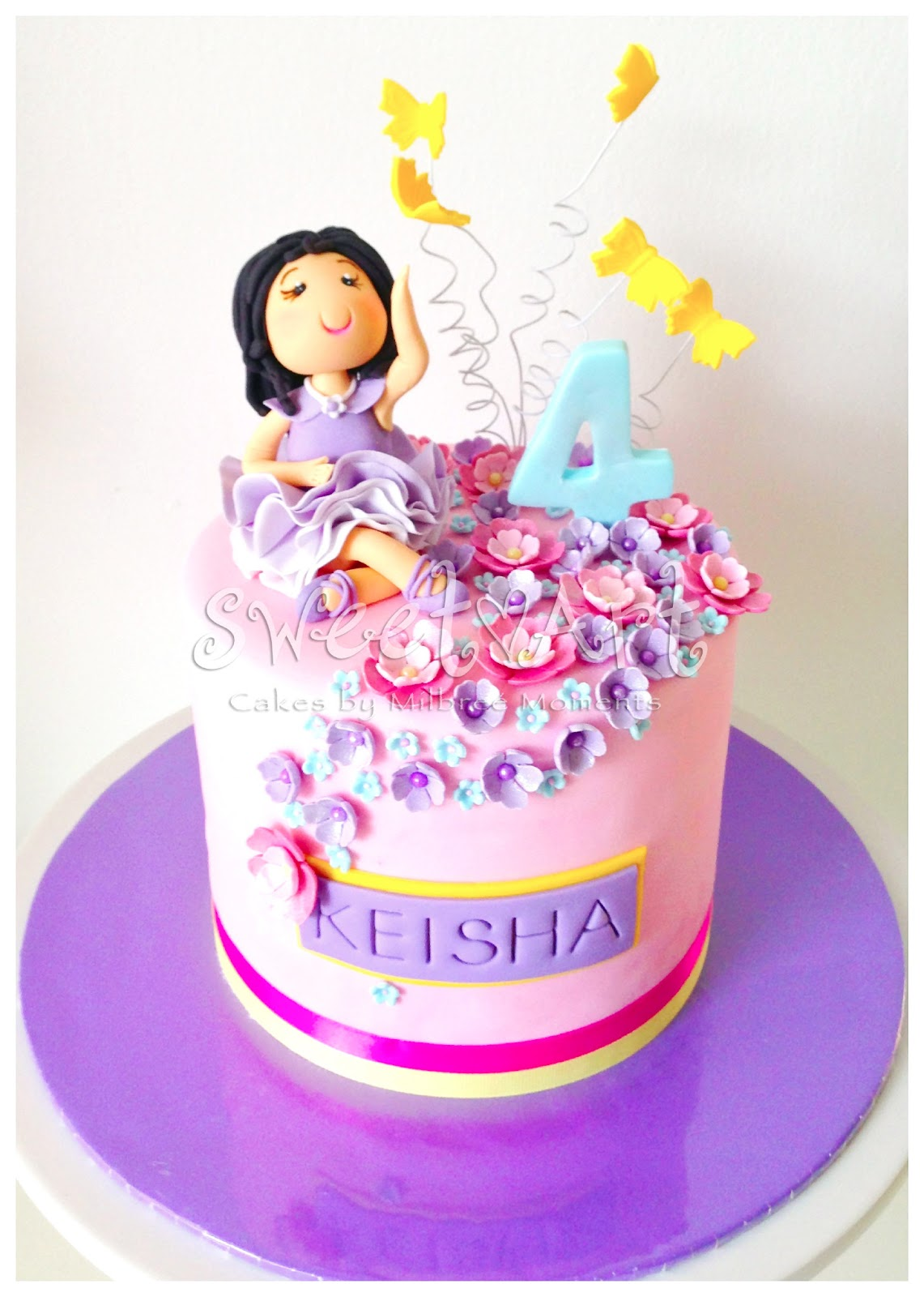 Sweet Art Cakes By Milbre 233 Moments Keisha S Ballerina 4th