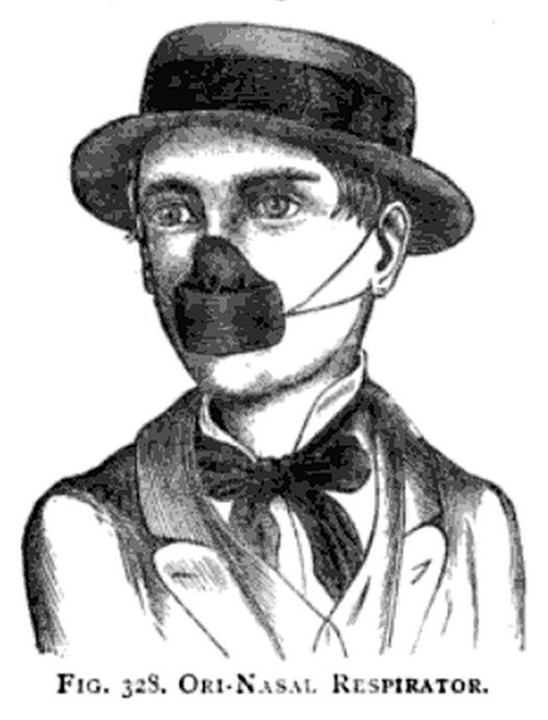 Ori-nasal respirator