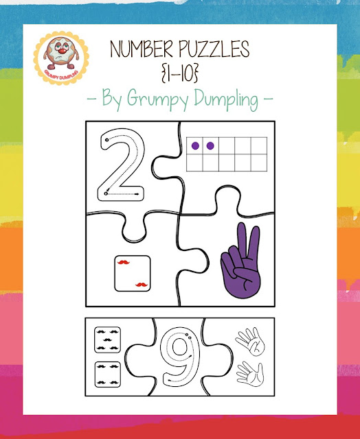 https://www.teacherspayteachers.com/Product/Number-Puzzles-1-10-2085508