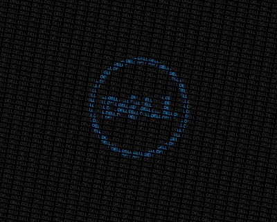 Dell Wallpaper Blue Circle