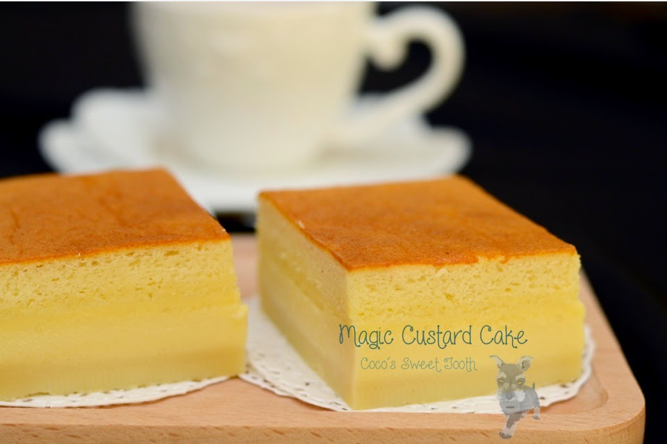 Magic Custard Cake Recipe Nz