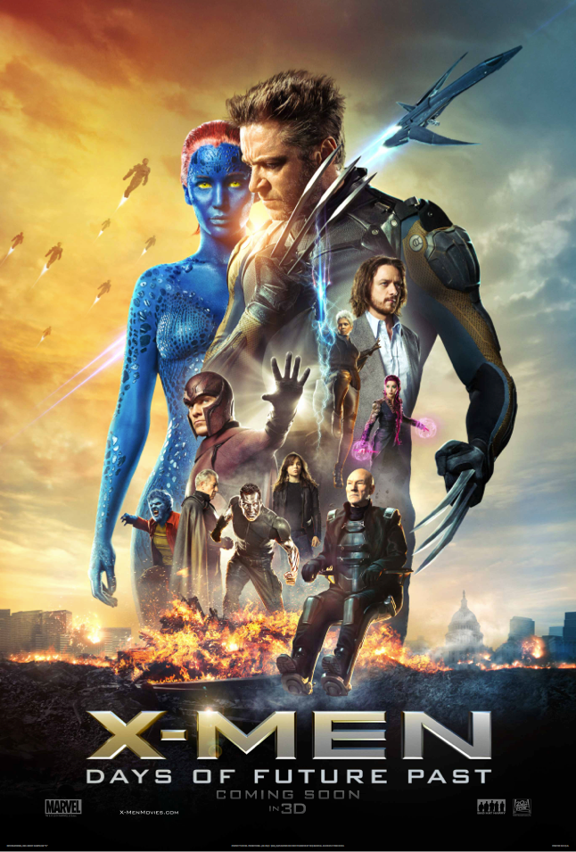 x-men days of future past, poster