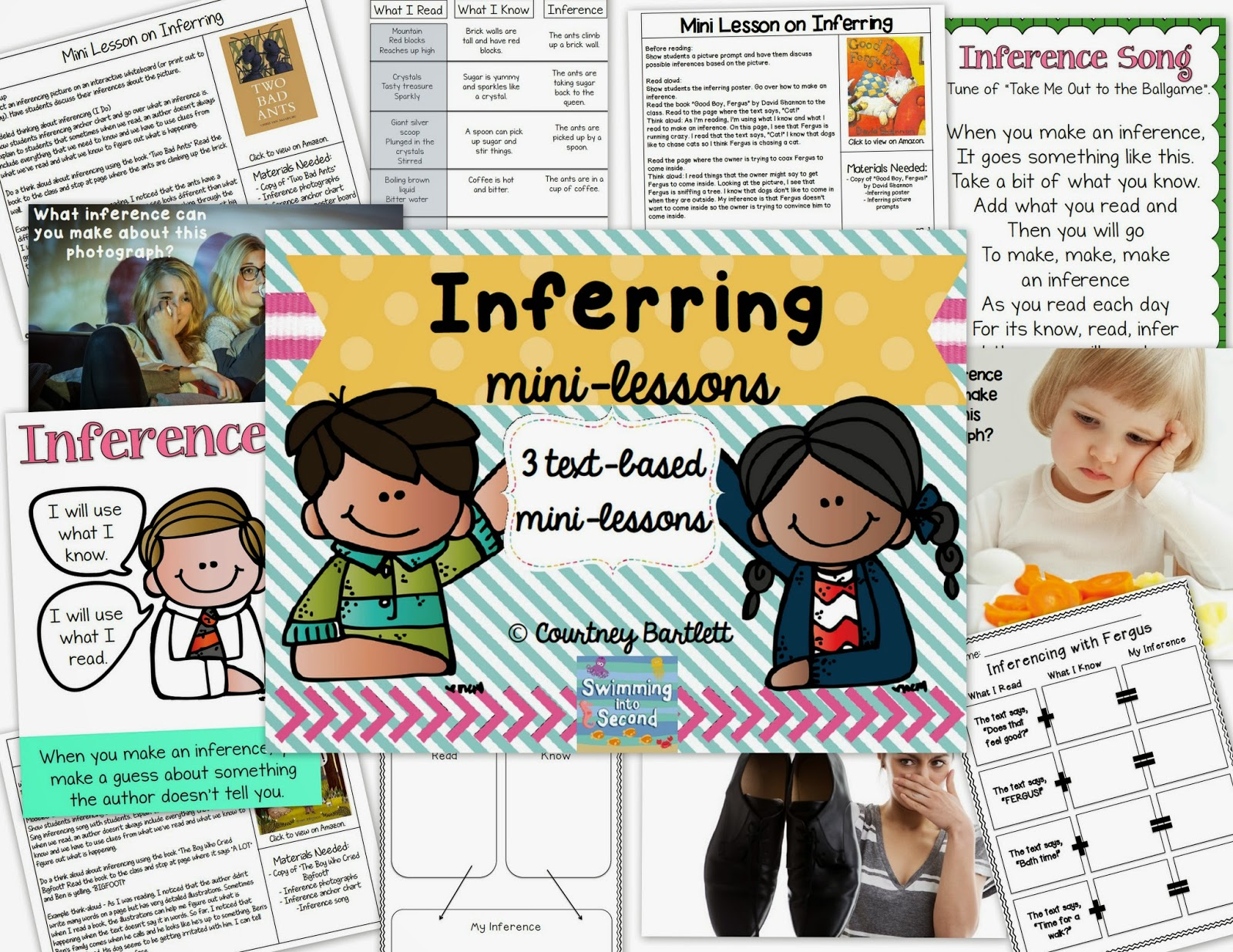 https://www.teacherspayteachers.com/Product/Inferring-mini-lesson-pack-1718431