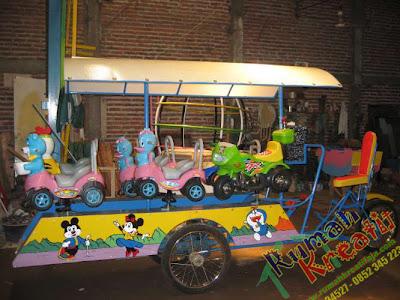 Produsen kereta mini,kereta mall, dan komidi putar terbaik di Indonesia
