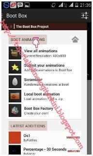 Mengganti Boot Animation Android Dengan Cepat