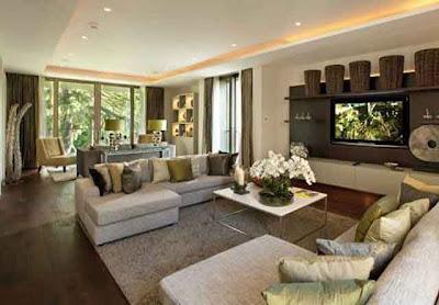 Desain Interior Ruang Keluarga Minimalis 02
