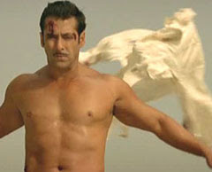 Salman Khan world record, Salman Khan t-shirts rip photo, Salman Khan world record video, most number of t-shirts ripping in a minute