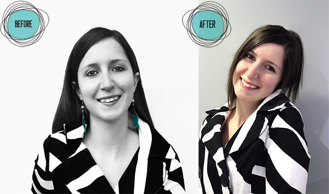 Black and White Obsession Designs: Bio Photo Before and After | Blog ReDesign/Refresh | www.blackandwhiteobsession.com