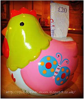 chicken money box