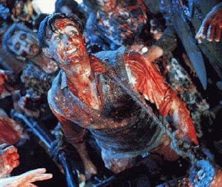 best zombie movie, bloody horror, lawn mower, ash, peter jackson, hobbit