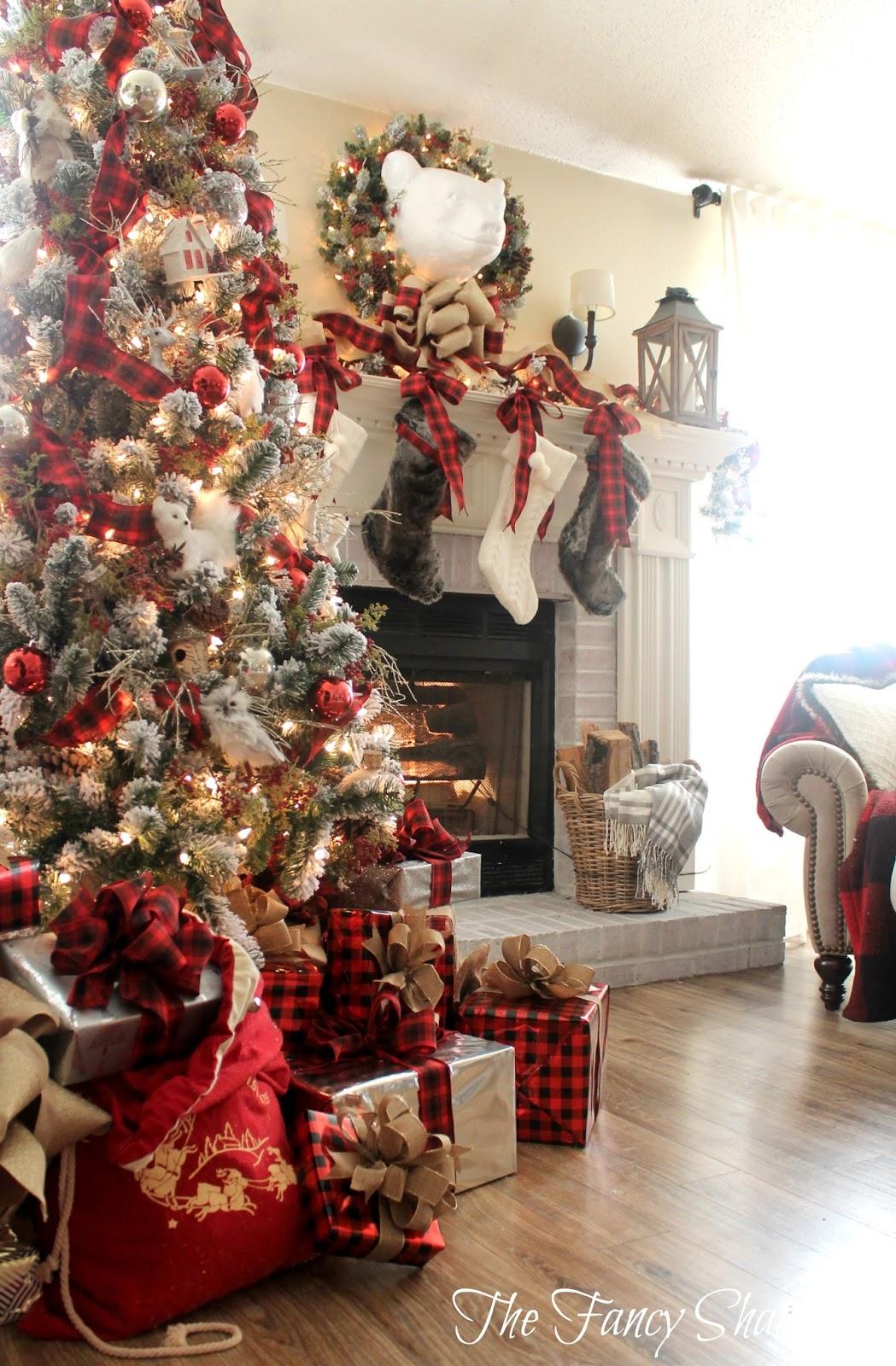 christmas decoration The Fancy Shack: Christmas Home Tour 2015