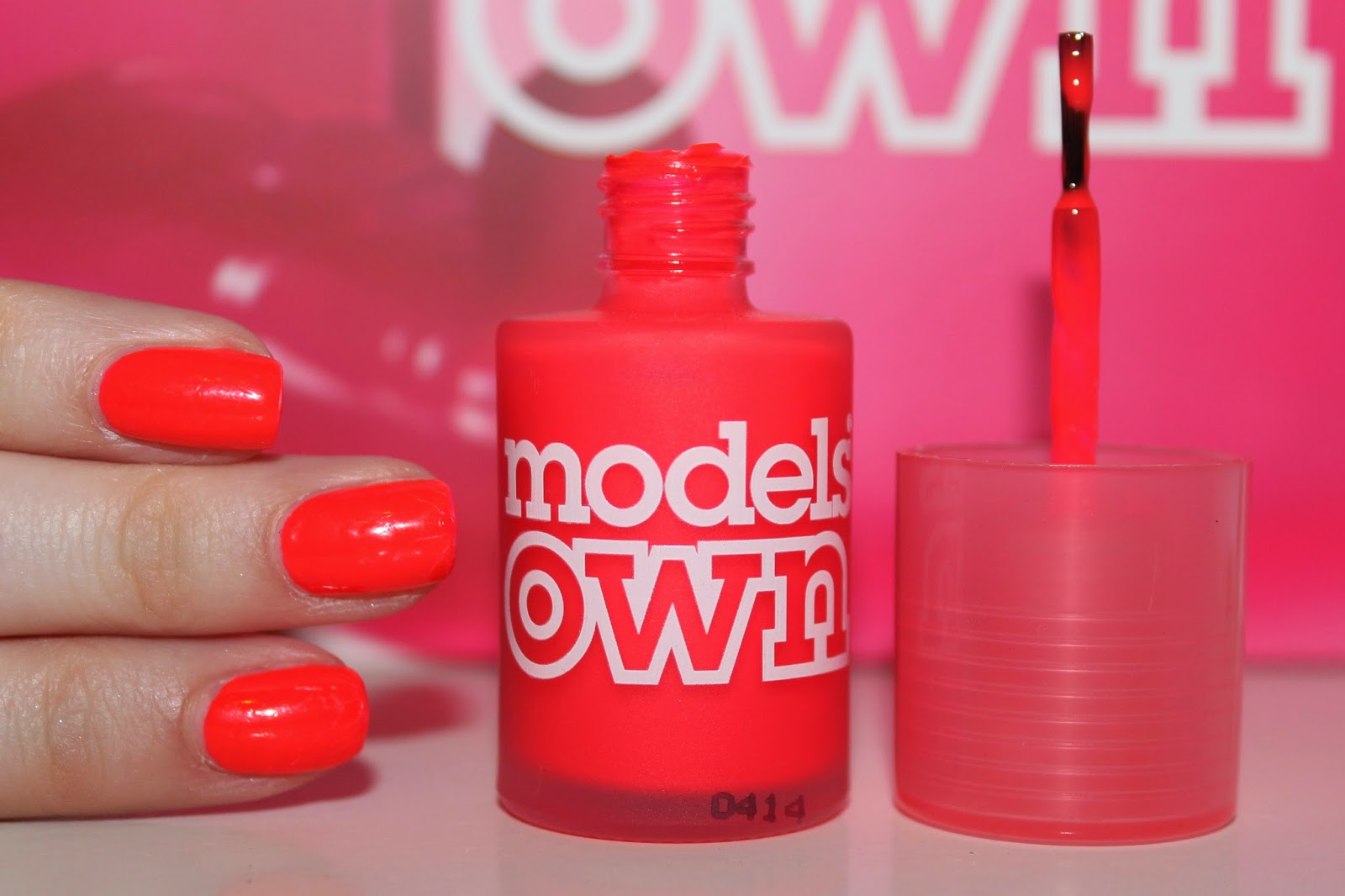 oh so jem: Models Own - Pink Punch