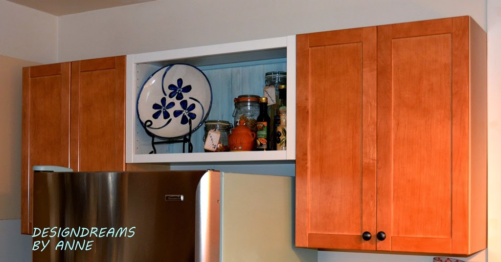 Designdreams By Anne How To Dress Up A Stock Kitchen Cabinet