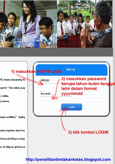 Cara Cek SK Pembayaran Tunjangan Profesi / Sertifikasi tahun 2013