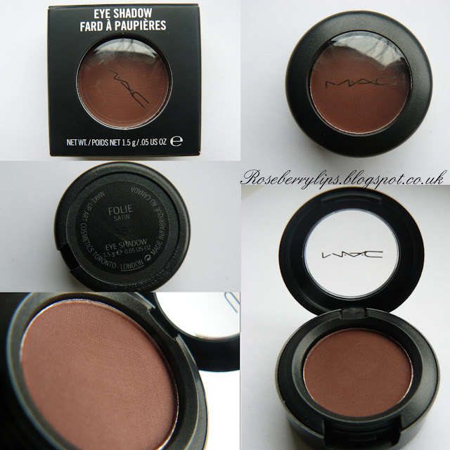 MAC Eyeshadow: Folie