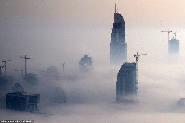Dubai in The Clouds