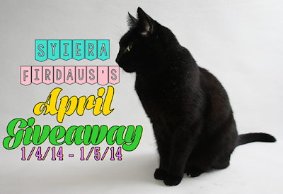 Syiera Firdaus s April Giveaway