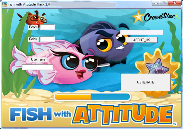 Fish with attitude hack for Fish with attitude 2