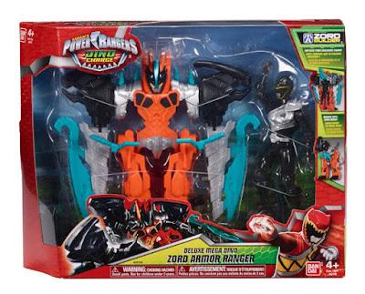 TOYS : JUGUETES - Power Rangers Dino Charge  Deluxe Mega Dino Zord Armor Ranger  Armadura + Figura - Muñeco  Producto Oficial Serie TV 2015 | Bandai 42112 | A partir de 4 años  Comprar en Amazon España & buy Amazon USA