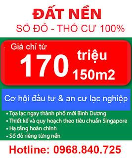 Lô I29 Mỹ Phước 3 Bình Dương giá rẻ tiện đầu tư