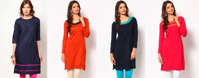 W Winter Kurtas for women