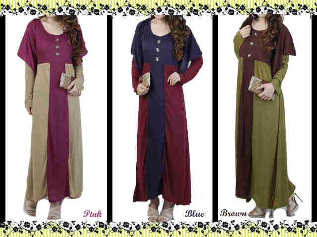 Baju Pakaian Busana Fashion Kaos Gamis Tunic Kaftan