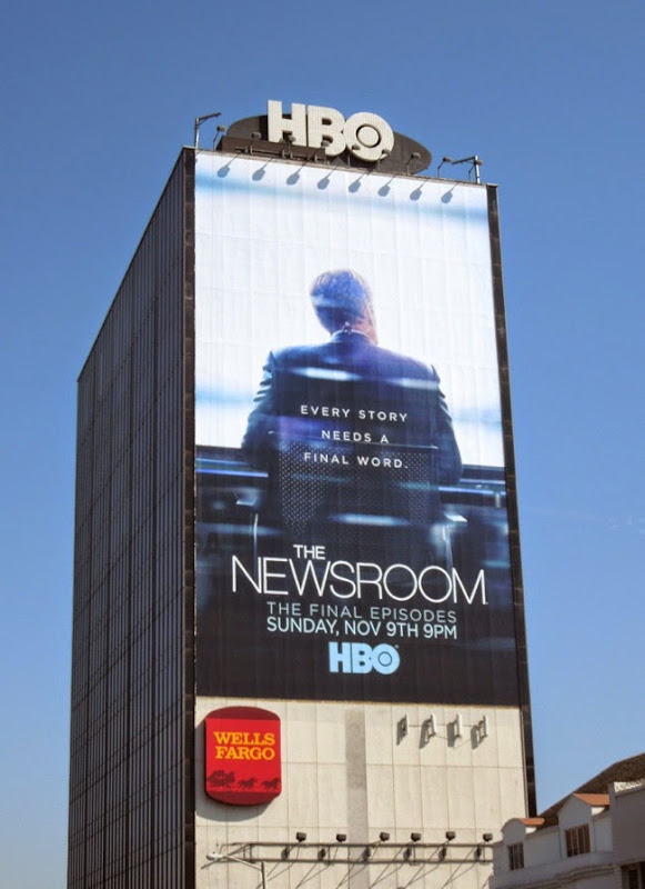 The Newsroom giant final season 3 billboard
