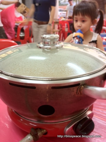 Steamboat at Ho Ho restaurant, JB