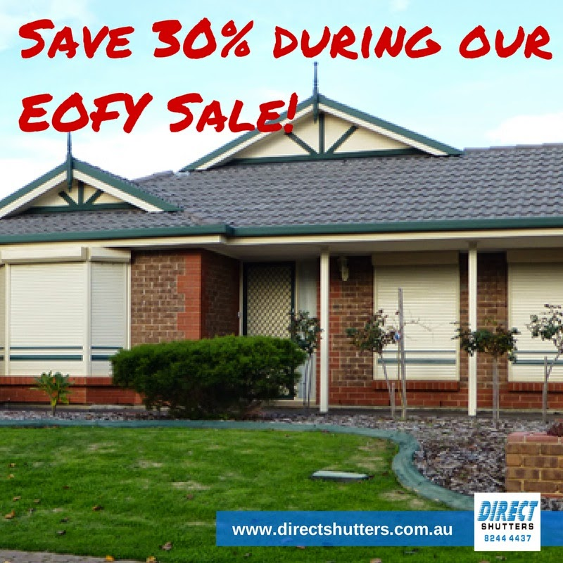 Roller shutters for windows and doors in Adelaide