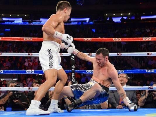 Fight Note: Absurd happening on Golovkin-Geale fight