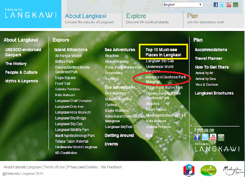Jom Langkawi: Mangrove Kilim Karst Geoforest Park